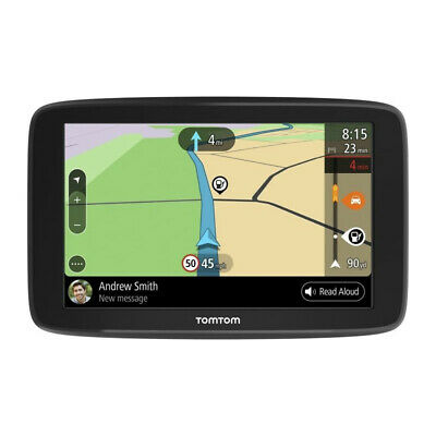 """TomTom GO BASIC 5"""" Resistive Screen With Built-in WiFi Smart Routing Sat Nav GPS"""