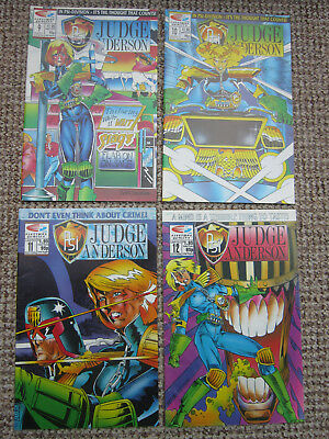 Psi Judge Anderson - 2000ad - Limited Edition - Issues 9 - 12