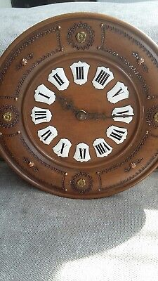 Vintage Wood With Enamel dial French