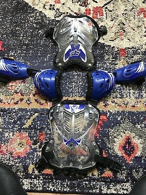 Boys FOX Motocross Chest Protector Youth Small