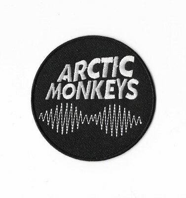 ARTIC MONKEYS Iron on / Sew on Patch Embroidered Badge Music Rock Band PT374