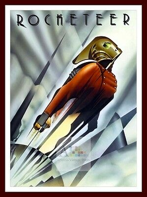 The Rocketeer   Iconic & Cool Movie Poster Vintage & Classic Film
