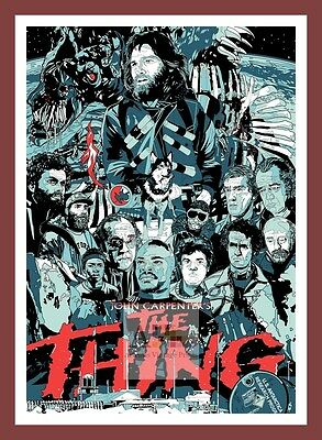 The Thing   Cult Movie Posters Classic Vintage Cinema