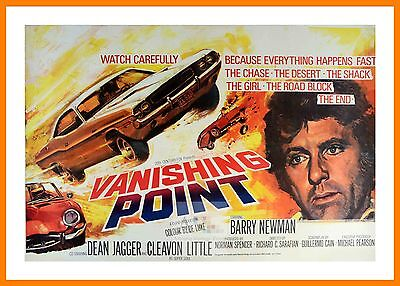 Vanishing Point    Hippy Culture Movie Posters Classic Films