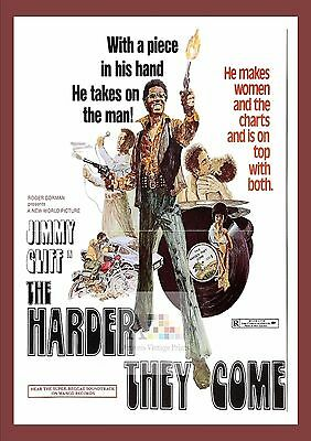 The Harder They Come     Cult Movie Posters Classic Vintage Cinema
