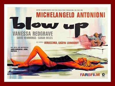 Blowup       Movie Posters British 1960's Classic & Vintage Films