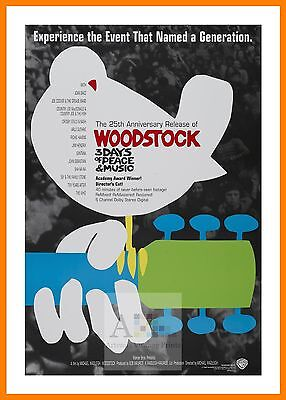 Woodstock    Hippy Culture Movie Posters Classic Films