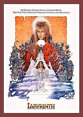 Labyrinth    Cult Movie Posters Classic Vintage Cinema
