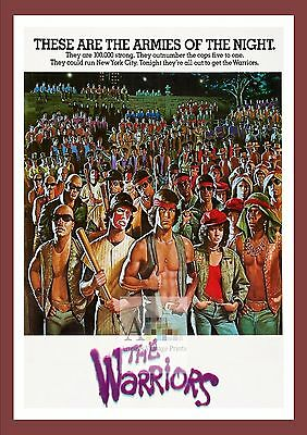The Warriors    Cult Movie Posters Classic Vintage Cinema