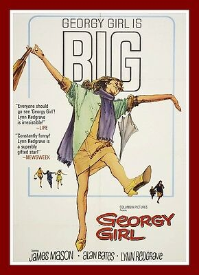 Georgy Girl    Movie Posters British 1960's Classic & Vintage Films