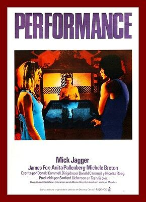 Performance   Movie Posters British 1960's Classic & Vintage Films
