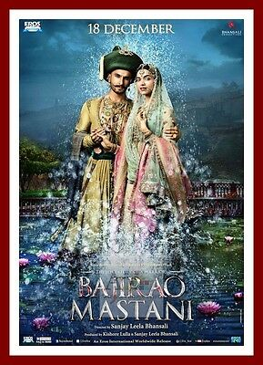 BAJIRAO MASTANI 2 Bollywood Movie Posters Classic and Vintage Indian Films