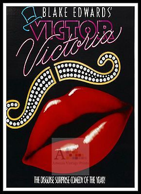 Victor Victoria    Movie Posters Musicals Classic & Vintage Films