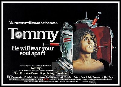 Tommy 4   Movie Posters Musicals Classic & Vintage Films