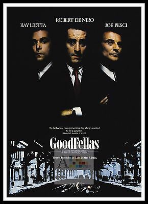 Goodfellas  Poster Greatest Movies Classic & Vintage Films