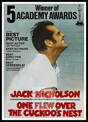 One Flew Over The Cuckoos Nest 3  Poster Greatest Movies Classic Vintage Films