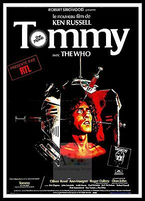Tommy  Movie Posters Musicals Classic & Vintage Films