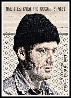 One Flew Over The Cuckoos Nest 8  Poster Greatest Movies Classic Vintage Films