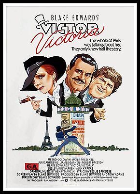 Victor Victoria 2   Movie Posters Musicals Classic & Vintage Films