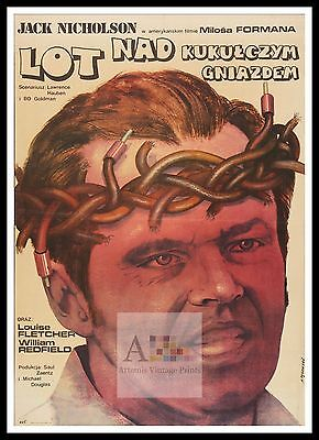 One Flew Over The Cuckoos Nest  Poster Greatest Movies Classic & Vintage Films