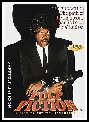 Pulp Fiction 2  Poster Greatest Movies Vintage & Classic Cinema