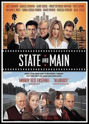 State And Main.   2000's Movie Posters Classic Films