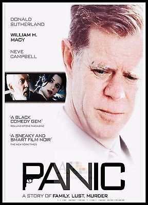 Panic.   2000's Movie Posters Classic Films