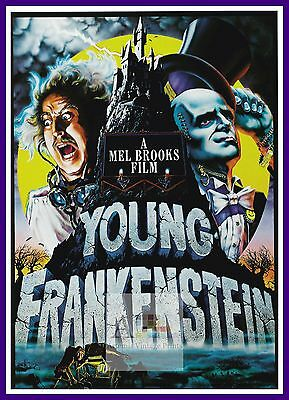 Young Frankenstein     Comedy Movie Posters Classic Cinema