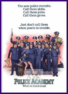 Police Academy    Comedy Movie Posters Classic Cinema