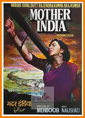 Mother India    Bollywood Movie Posters Vintage Classic & Indian Films