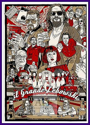 The Big Lebowski 2  Comedy Movie Posters Classic Cinema