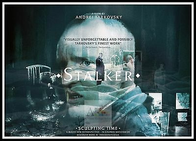 Stalker 7  Poster Greatest Movies Classic & Vintage Films