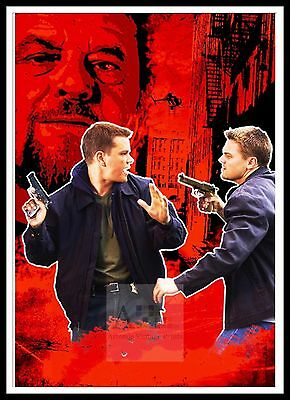 The Departed 6   Poster Greatest Movies Classic & Vintage Films