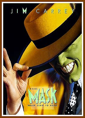 The Mask   1990's Movie Posters Classic Cinema