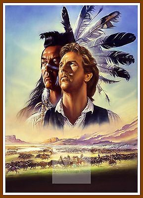 Dances With Wolves   1990's Movie Posters Classic Cinema