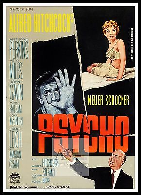 Psycho 4  Poster Greatest Movies Classic & Vintage Films