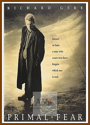 Primal Fear  1990's Movie Posters Classic Cinema