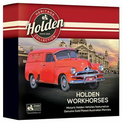 2018 Holden Workhorses Enamel Penny Collection