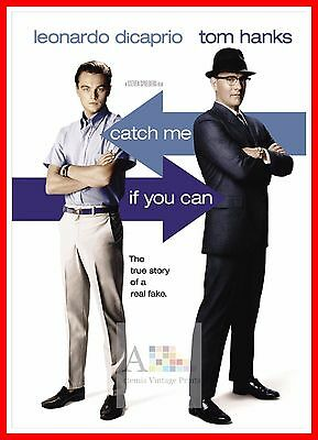 Catch Me If You Can    2000's Movie Posters Classic Cinema Vintage Film
