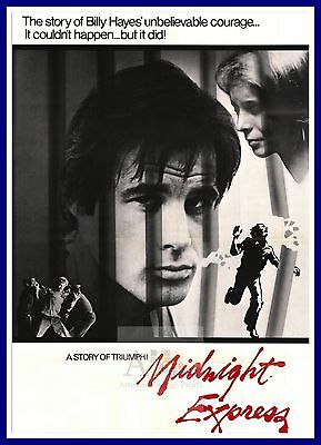 Midnight Express        1970's Movie Posters Classic Cinema