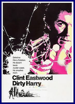 Dirty Harry   1970's Movie Posters Classic Cinema