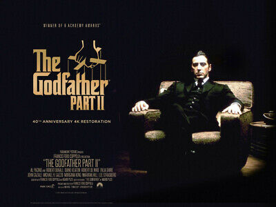 íThe Godfather Part 2   1970's Movie Posters Classic Cinema