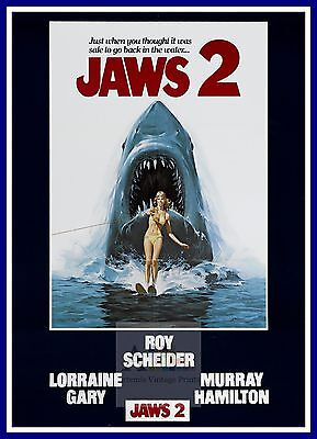 Jaws 2   1970's Movie Posters Classic Cinema