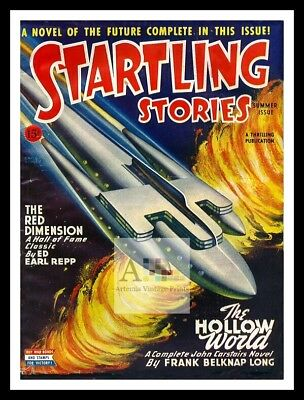 Startling Stories 13   American Science Fiction Pulp Magazines Vintage Posters