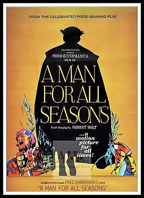 A Man For All Seasons 2    British Movie Posters Classic & Vintage  Films