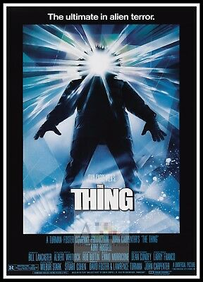 The Thing 3 Horror Movie Posters Classic & Vintage Cinema