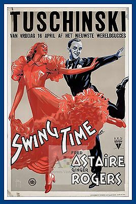 Swing Time   1940/'s Movie Posters Classic Cinema