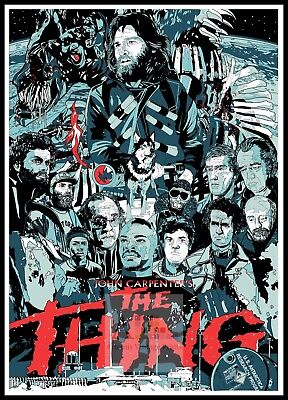 The Thing 9 Horror Movie Posters Classic & Vintage Cinema