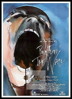 Pink Floyd The Wall 3  Rock & Roll Movie Posters Classic & Vintage Films
