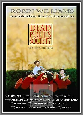 Dead Poets Society   1980's Movie Posters Classic Cinema